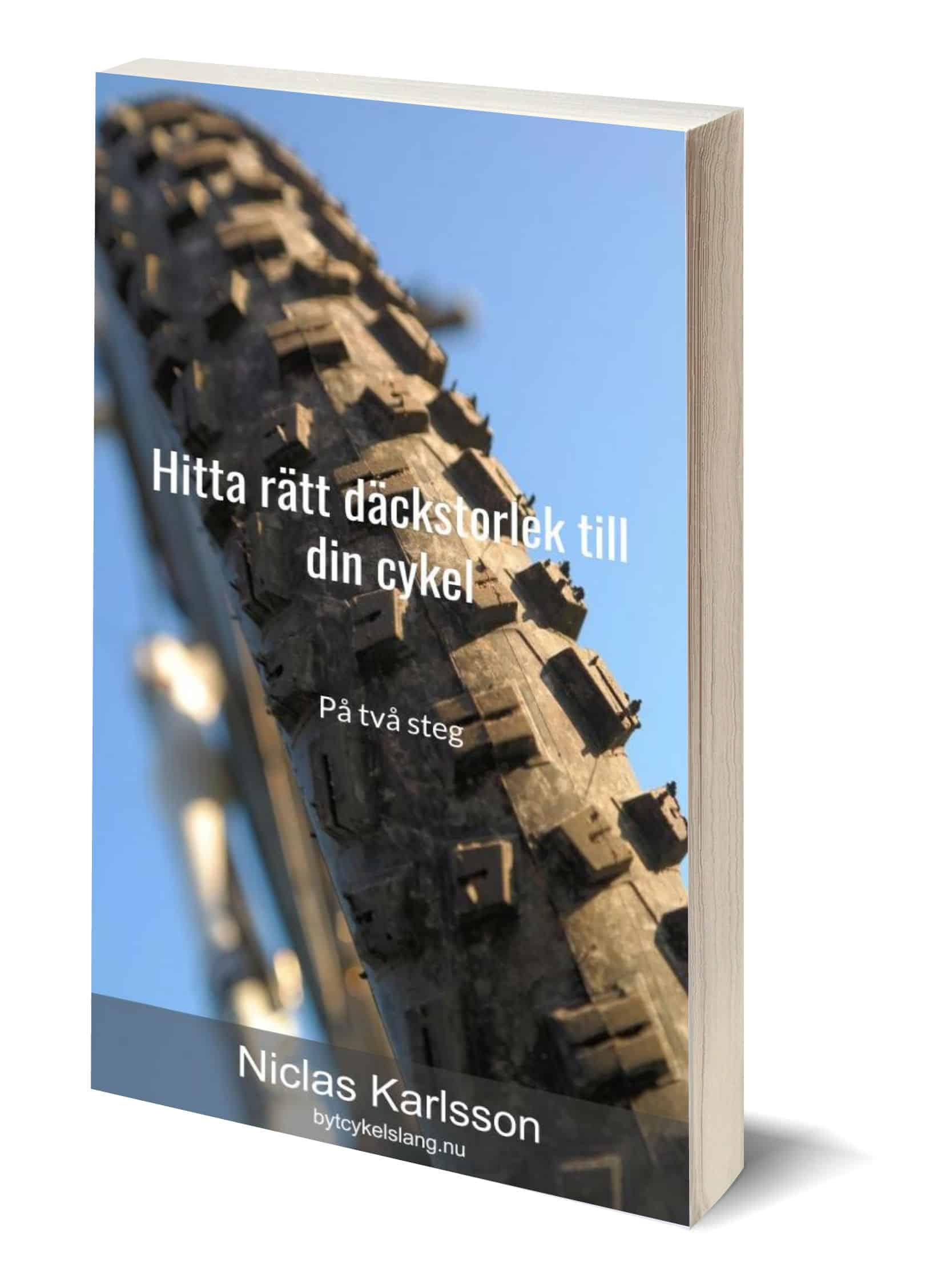 Gratis guiden: Hitta rätt däckstorlek till din cykel - på två steg