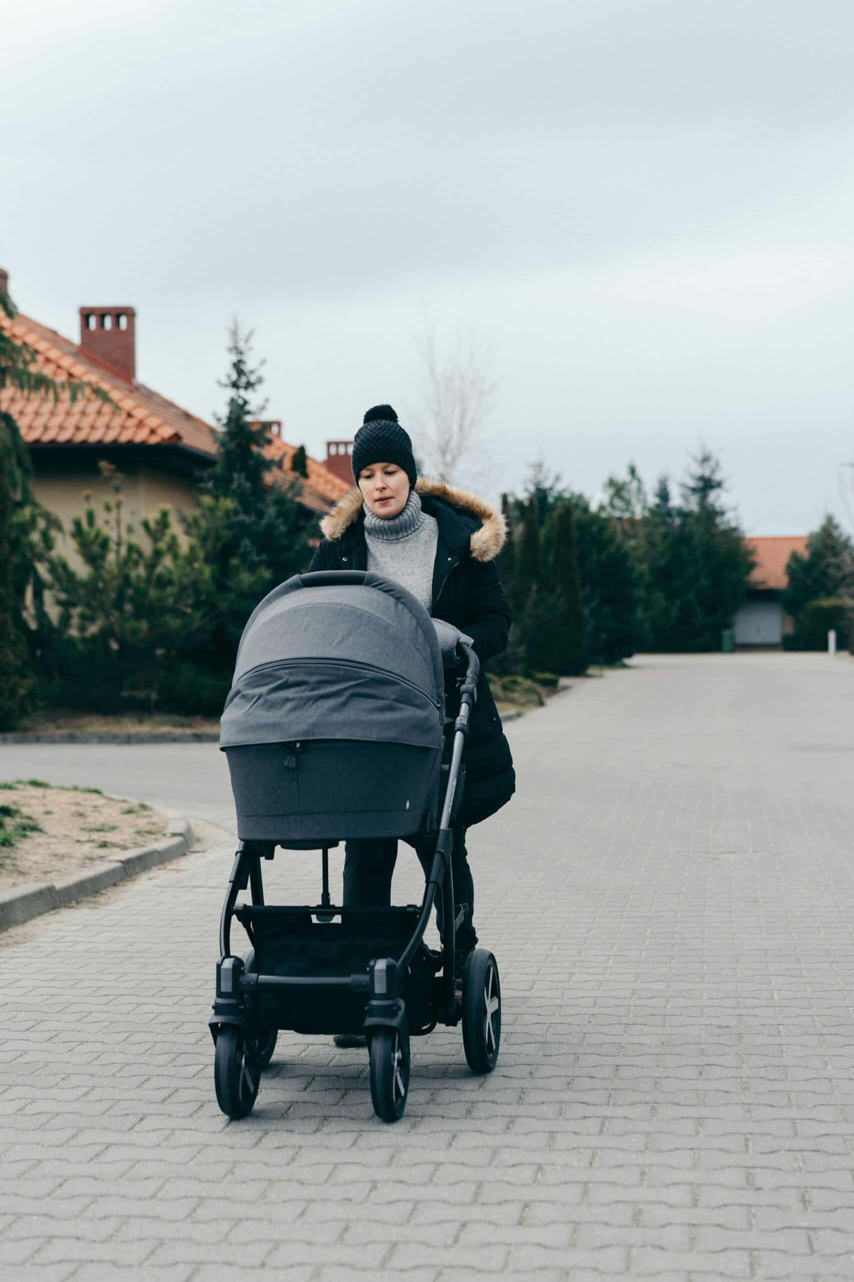 Rätt hjul till barnvagn